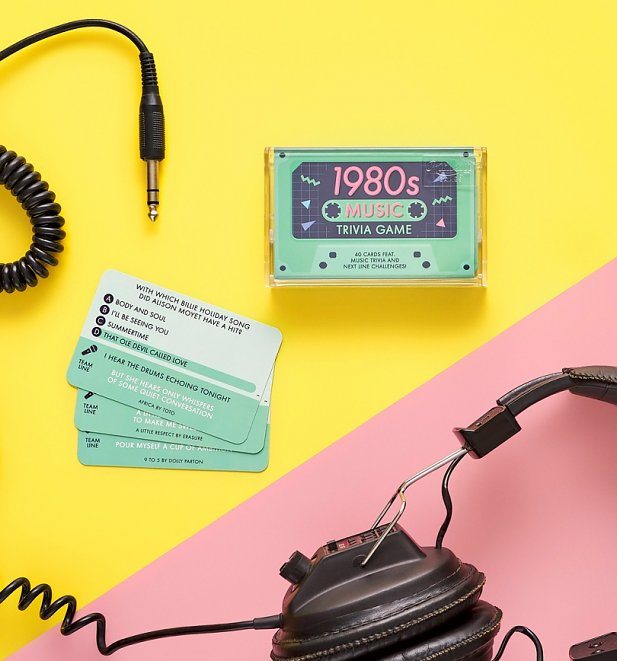 An image of 1980s Music Trivia Cassette Quiz Game