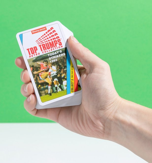 An image of Retro Football Top Trumps Card Game