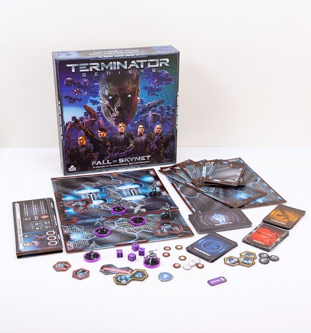 An image of Terminator Genisys Board Game Fall Of Skynet Expansion Pack by Riverhorse