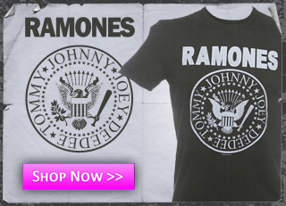 Left - Ramones